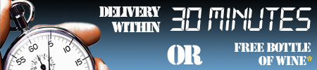 30 minute delivery